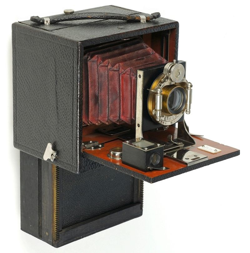 Pre-patent version of the Chase Folding Magazine Camera, c.1899