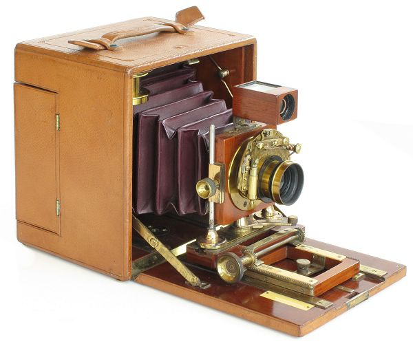 4x5 inch Henry Clay Regular Camera, c.1896