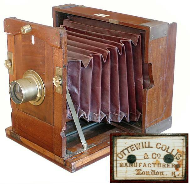 Ottewill-Collis Improved Kinnear Camera, 1860s