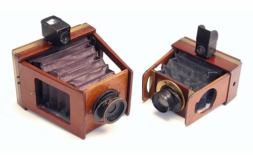 Shew Xit cameras, late 1890s to early 1900s