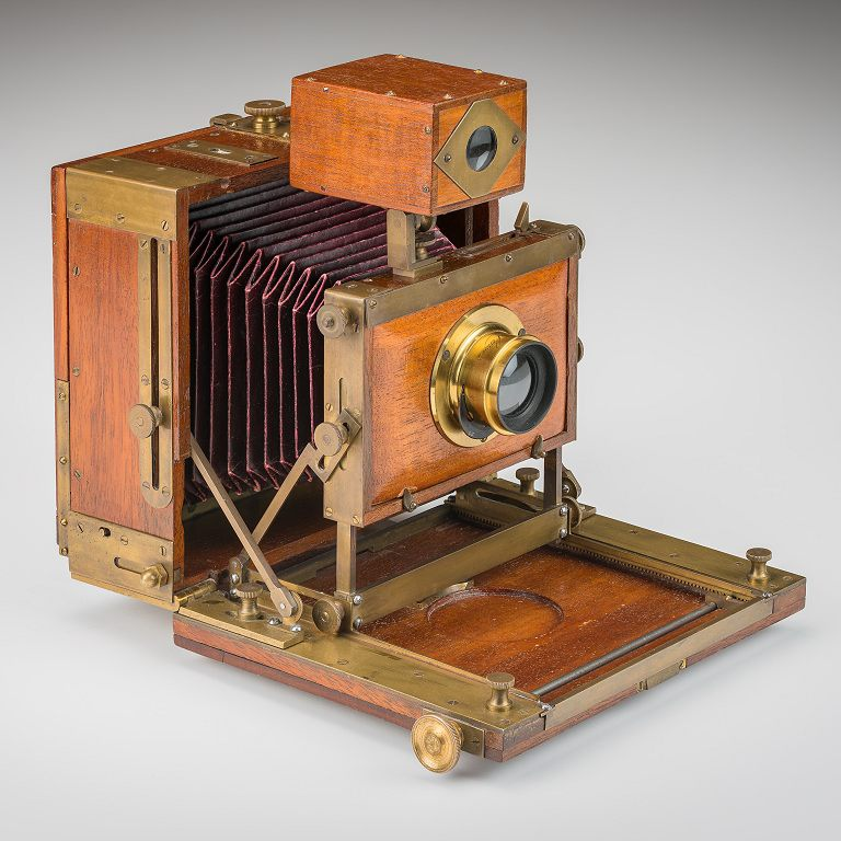 Unknown American Field Camera - 4-1/4 x 5-1/4 inch format